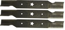 """3 Mower Blades for 54"""" Deck AYP - Sears Tractor Mowers - 3 Blades"""