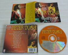 CD ALBUM THE BEST OF PETER TOSH 16 TITRES 1996  DC 867392