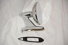 Chrome Side View Mirror 57 58 59 Chrysler Desoto Dodge Plymouth Mopar Imperial