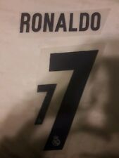 Nameset Real Madrid 2017 RONALDO 7
