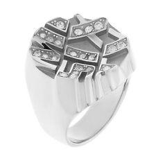 Anello donna Miss Sixty ring in acciaio con petre SMPN01018 - Misura 18