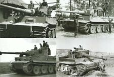 WW II German Photo  ** MEGA LOT - 20 Photo`s **  The Mighty Tiger Tank  ..