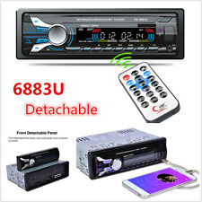 Newest Detachable HD Car Auto Stereo DVD MP3 Player In Dash Bluetooth FM Radio