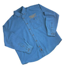 Denim Shirt Long Sleeve X-Large Woodworkers Supply Logo