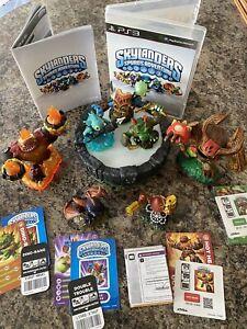 PS3 Skylanders bundle with 7 figures and game