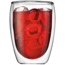Bodumpavina 6-teiliges Gläser-Set (Doppelwandig, isoliert, 0,35 l) transparent