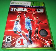 NBA 2K13 Microsoft Xbox 360 *Factory Sealed! *Free Shipping!