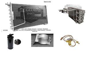 73 74 Dodge Plymouth AC Condenser Evaporator Dri EXV Mopar EV5775 AC3280 3502548