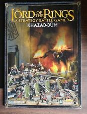 lord of rings khazad dum games workshop  towers fellowship king dwarf army durin
