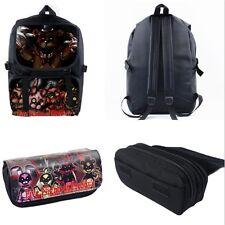 Five Nights At Freddy's Characters FNAF Game Shoulder Bag Backpack & Pencil Case