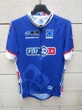 Maillot cycliste FDJ.FR Française des Jeux LAPIERRE UCI Pro Tour shirt jersey M