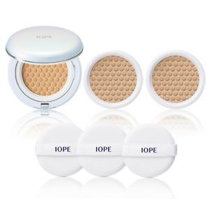 IOPE Aircushion Set /Cushion+Refill 2ea/Glossy skin/Wrinkle ,UV protection