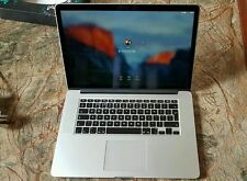 2015 15 Retina Apple Macbook Pro i7 2.5Ghz 16GB, 512GB SSD 2GB AMD M370X GPU