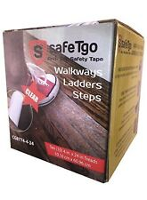 """New listing 10 Strong Stair Antislip Tape Abrasive Treads by SafeTgo – 4in.By 24in 4"""" X 24"""""""