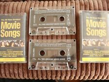 2 x CASSETTES - The All Time Greatest Movie Songs Vol. 1 - Michael Jackson, Cher