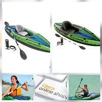Intex Challenger K1 Kayak One Person Canoe Kayak Canoeing Inflatable Storage Bag