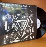 HELIOCENTRIC WORLDS OF SUN RA Vinyl LP Record 2009 Free Jazz EXPERIMENTAL NM/NM