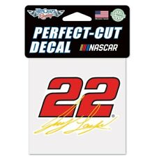JOEY LOGANO #22 PERFECT CUT DECAL WINCRAFT 4X4 DECAL STICKER