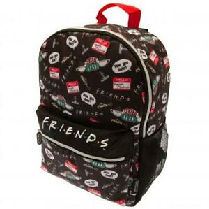 Official FRIENDS Icons Rucksack BACKPACK Unisex School College Uni BAG