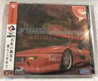 NEW F355 Challenge: Passione Rossa Ferrari Sega Dreamcast Japan Only SEALED