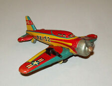 Beautiful Old vtg 1950s 60s Tin Toy P52 Airplane PX-52 WWII USAF Fighter Japan