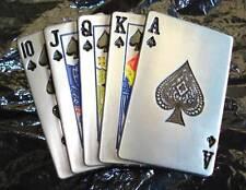 Boucle ceinture - Poker - Straight Flush