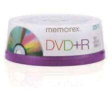 Memorex MRX 25x Spindel DVD+R Rohlinge 4,7GB 16X Speed Speicher DVD Rohling PACK