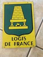 Logis de France Tin Double Sided Sign