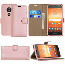 For Motorola Moto G8 Plus G7 G6 Play G5 E5 Leather Wallet Flip Phone Case Cover