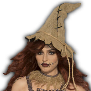 Scarecrow Hat Adult Costume Accessory One Size NEW Mens Womens