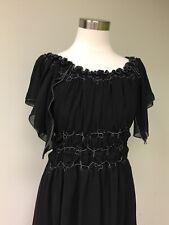 NWT Max Studio Black Lace Dress Sz S
