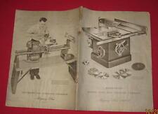 1950 MONTGOMERY WARD POWER-KRAFT POWER TOOL & WELDING CATALOG 48 PG & PRICE LIST
