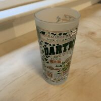 Dartmouth College Drinking Glass Map of Campus