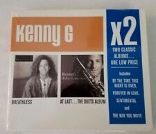 Kenny G X2 Breathless At Last The Duets Album (Kenneth Bruce Gorelick) 2 CDs