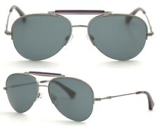 Emporio Armani Damen Herren Sonnenbrille EA1020 3010 grün 55mm Metall 109 48