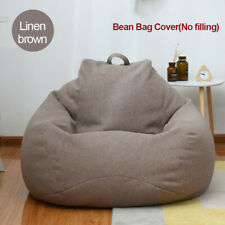 Upgrade Bean Bag Cover Home Decoration No Filler Indoor Lounge Chairs Couch Sofa