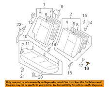 Chevrolet GM OEM 04-06 Aveo Rear Seat-Pin 96312284