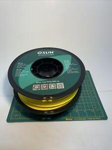 E Sun Pla+ 1kg 3D Printer Filament Yellow Opened