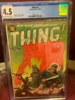 Charlton Comics - The Thing #2 - 4/1952 -  CGC 4.5 - RARE FIND