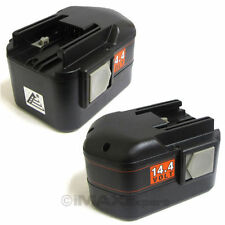 2 14.4V 14.4 Volt Battery for MILWAUKEE 48-11-1000 48-1​1-1014 48-11-10​24 14V