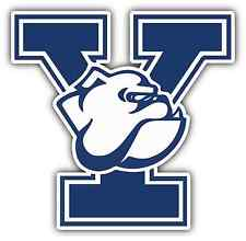 "Yale Bulldogs University College NCAA Car Bumper Vinyl Sticker Decal 4""X5"""