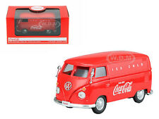 1962 VOLKSWAGEN COCA COLA CARGO VAN RED 1/43 DIECAST MODEL BY MCC 430004