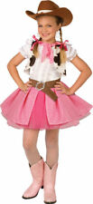 Morris Costumes Girl's Short Sleeve Western Cowgirl Vest Costume 4-6. LF4008PKSM