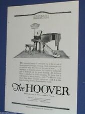 1920 HOOVER advertisement, vacuum cleaner, suction sweeper, rug & piano photo