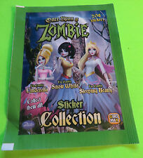 2013 ONCE UPON A ZOMBIE COLLECTIBLE STICKER PACKAGE  UNOPENED FROM ITALY
