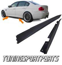 SIDE SKIRT ABS FOR BMW E90 E91 05-12 SERIES 3 SPOILER BODY KIT MINIGONNE NEW