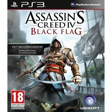 PS3 - Assassins Creed IV (4) Black Flag **New & Sealed** Official UK Stock