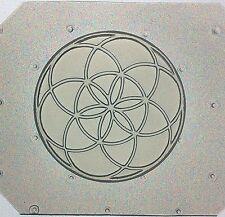 Flexible Resin Or Chocolate Mold Sacred Geometry Seed of Life