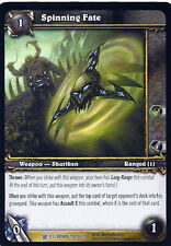 WOW WARCRAFT TCG ICECROWN : SPINNING FATE X 4