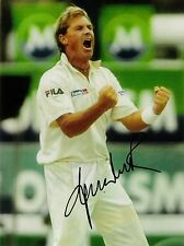 AUSTRALIA SPIN LEGEND SHANE WARNE SIGNED PHOTO